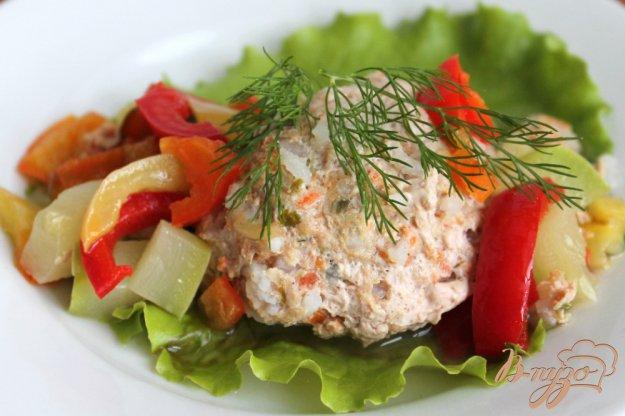 фото рецепта: Мясные тефтели с овощами