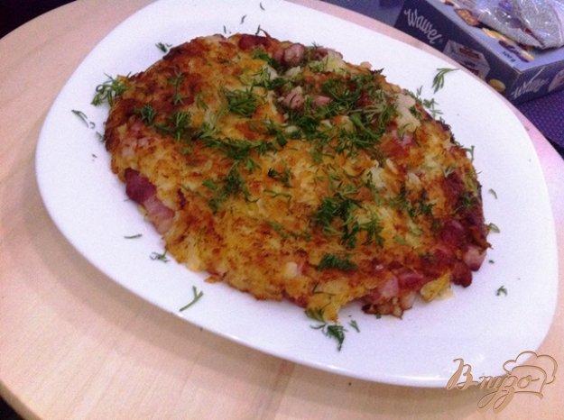 фото рецепта: Картофель Рёшти с беконом