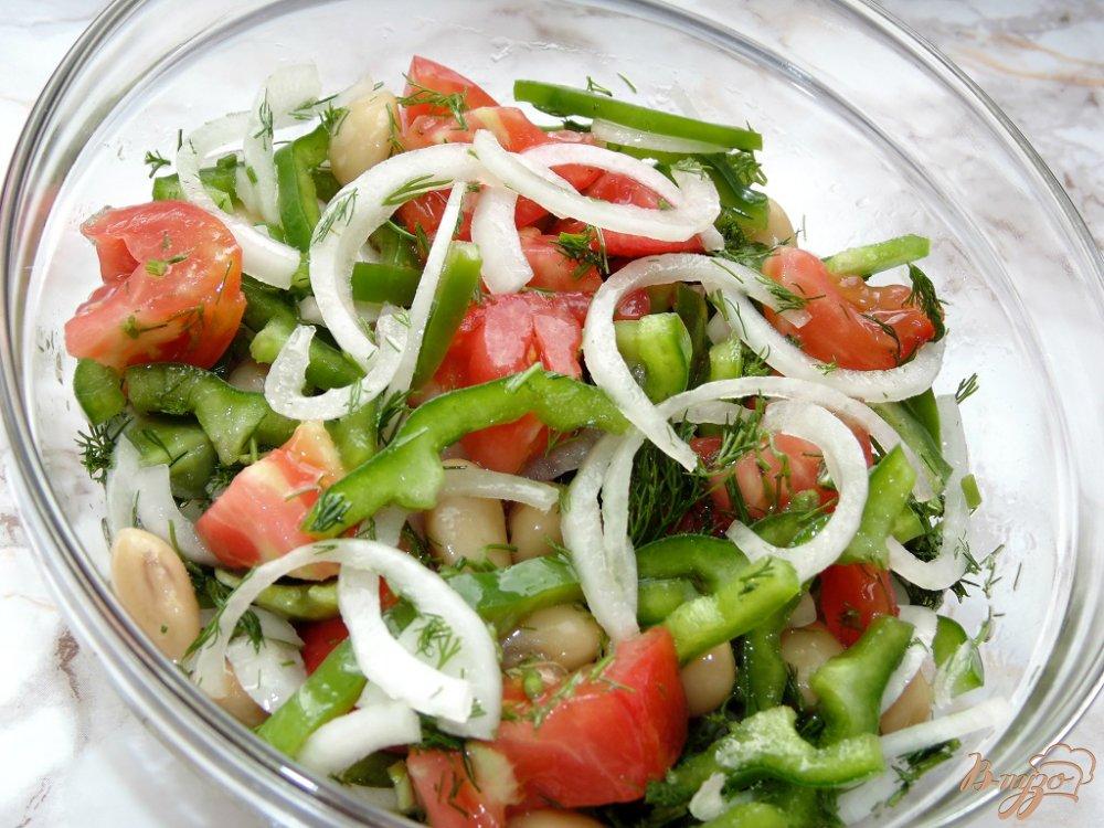 Как сделать салат из перца и риса 645