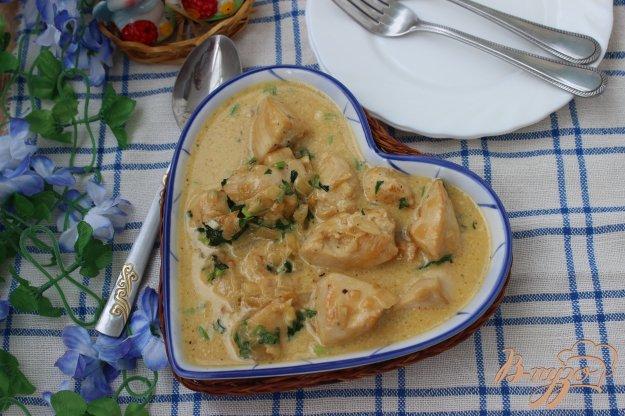 фото рецепта: Курица в сметанном соусе