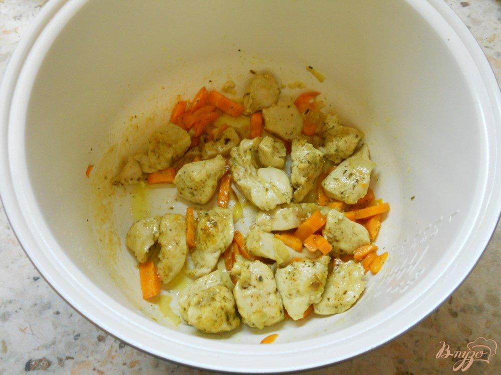 Картофель с филе курицы в мультиварке рецепт