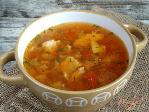 фото рецепта: Летний борщ из молодых овощей