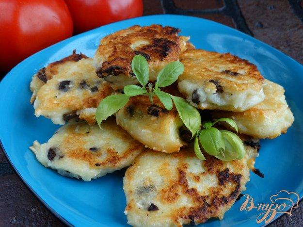 Картофельные оладьи с грибами пошаговый рецепт