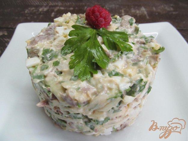 фото рецепта: Салат из баранины с каперсами