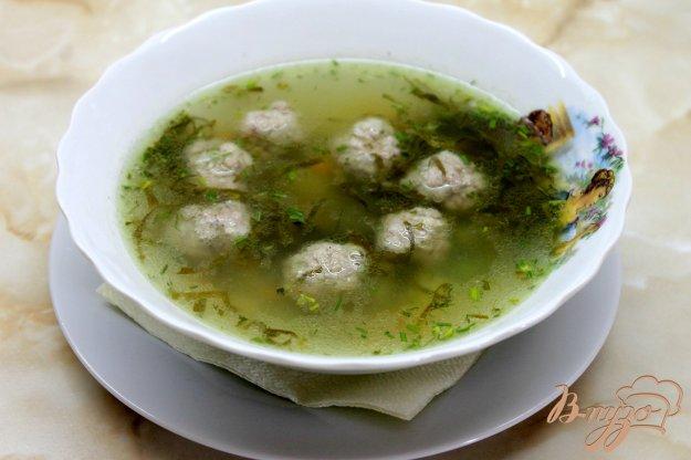 суп с фрикадельками и горошком пошаговый рецепт с фото