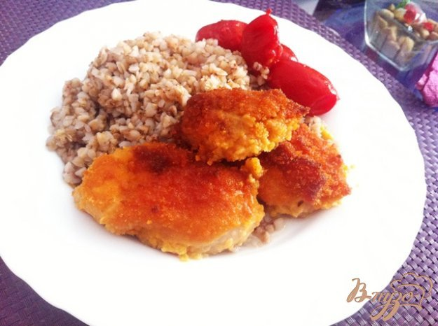 фото рецепта: Куриное филе в пряной панировке