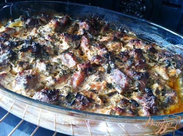 фото рецепта: Мега шашлык из духовки