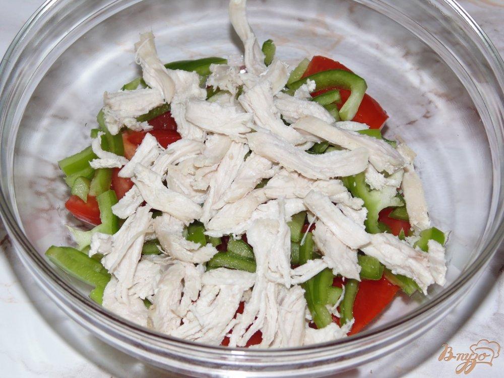 Салаты из отварной курицы рецепты с фото