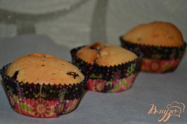 фото рецепта: Кексы с Изабеллой и шоколадом