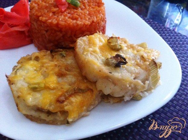 фото рецепта: Филе хека запеченное с сыром