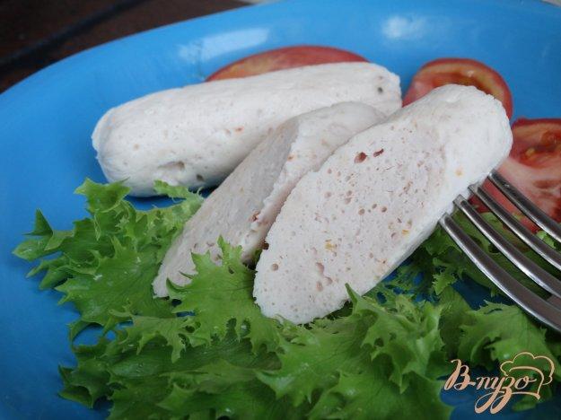 фото рецепта: Куриные сосиски Сливочные