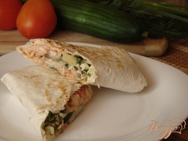 фото рецепта: Овощная шаурма