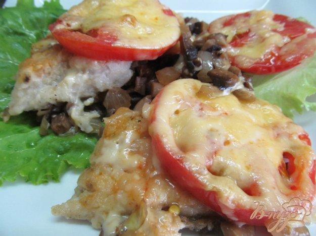 фото рецепта: Запеченный хек с овощами