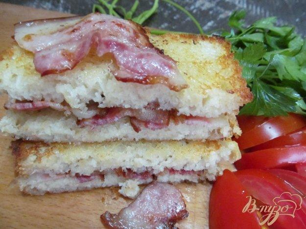 фото рецепта: Сэндвич с беконом