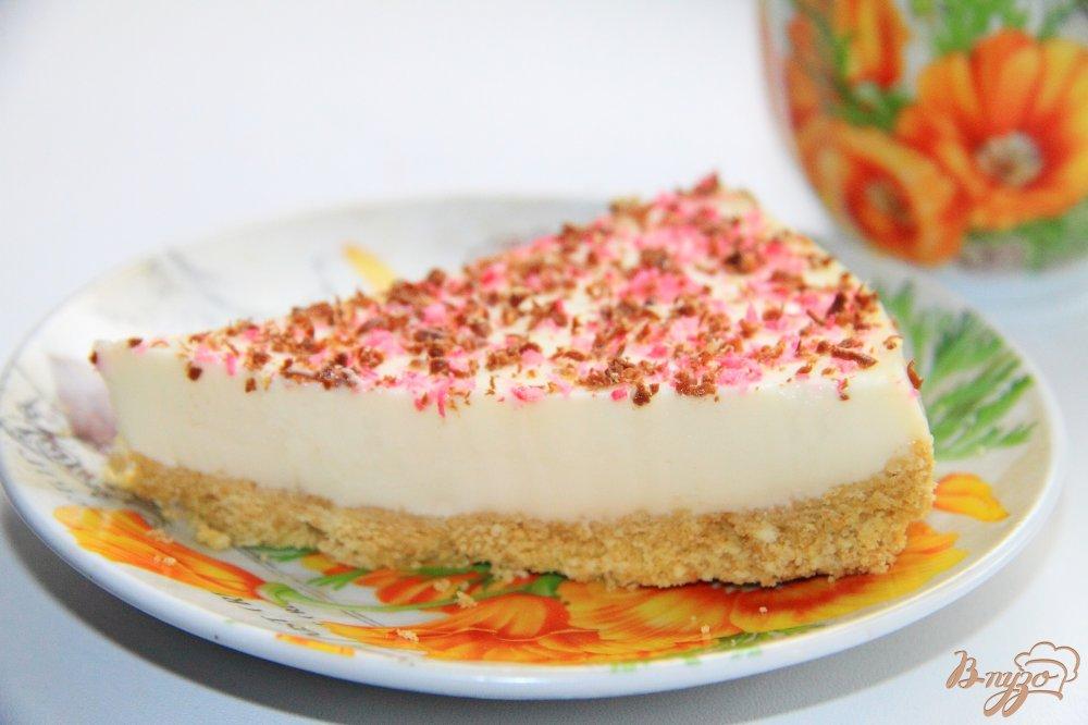 Торт со сметаной и творогом рецепт