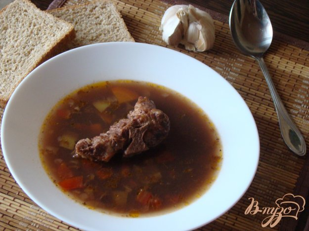 фото рецепта: Суп боб-чорба