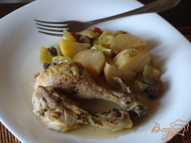 фото рецепта: Курица с овощами по-болгарски