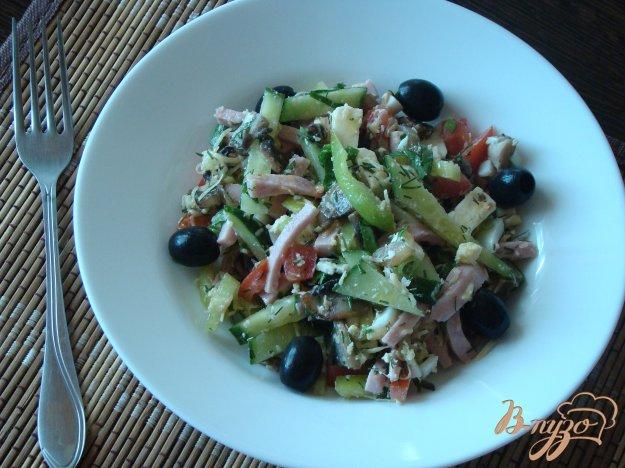 фото рецепта: Овчарский (пастуший) салат