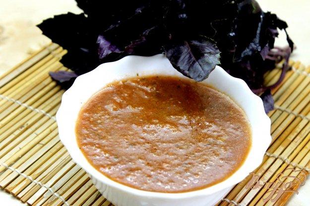 фото рецепта: Томатный соус из сладким перцем