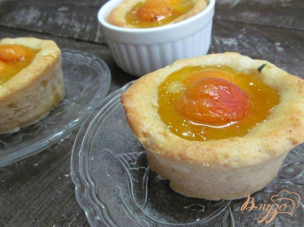 фото рецепта: Творожные корзиночки с абрикосовой начинкой