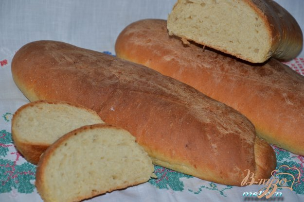 фото рецепта: Мини-батоны с медом и сыром