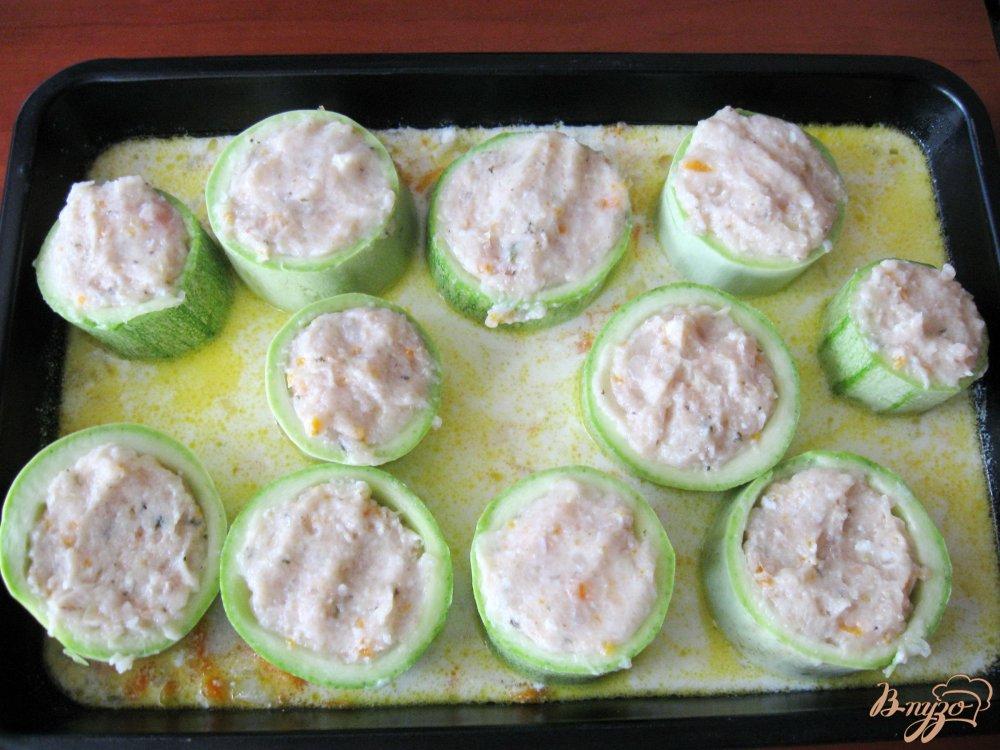 Фаршированные кабачки в духовке пошаговый рецепт с фото