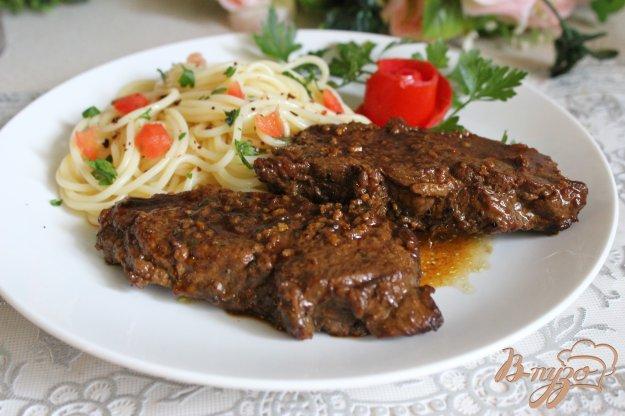 фото рецепта: Острая говядина в красном вине