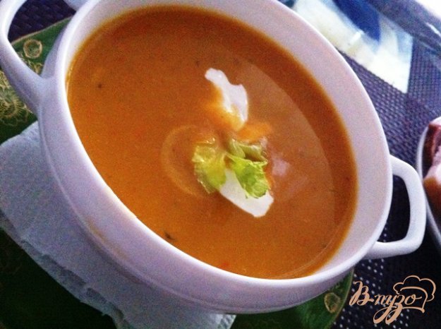 фото рецепта: Овощной суп-пюре