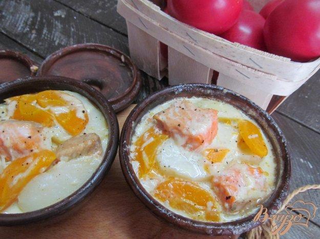 фото рецепта: Запеченная форель с овощами
