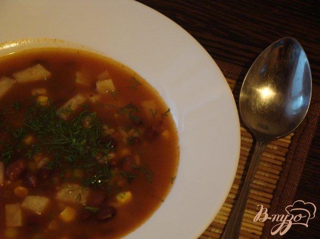 фото рецепта: Овощной томатный суп