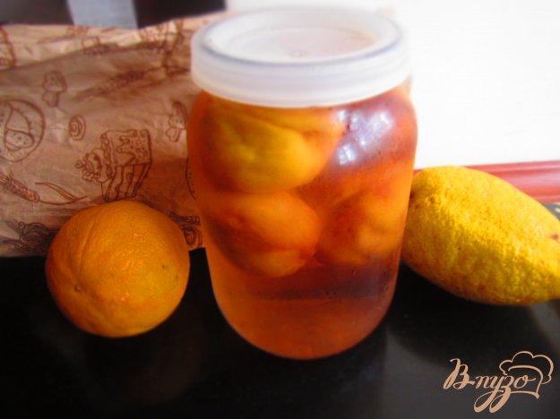 фото рецепта: Компот из персиков на зиму