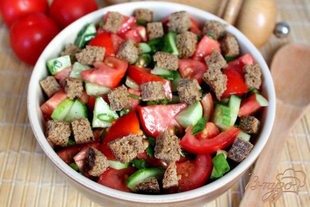 Как сделать салат из сухариков рецепт