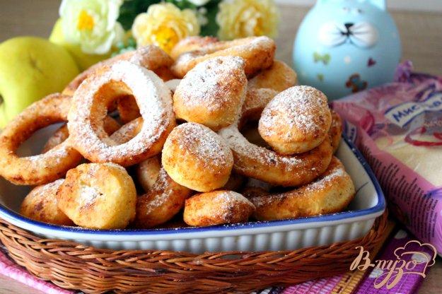 фото рецепта: Творожные пончики (Oponki serowe)