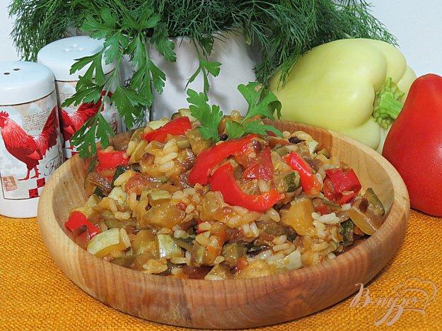 фото рецепта: Кабачки с рисом
