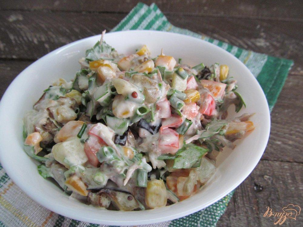салат из жареных баклажан рецепты с фото