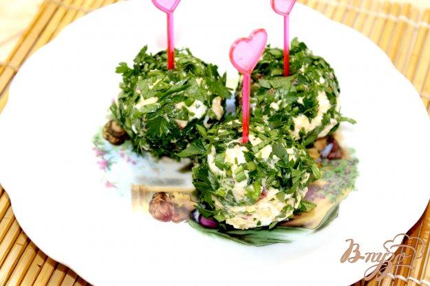 фото рецепта: Чесночные шарики с добавлением чили