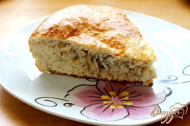 Пирог из сардины с