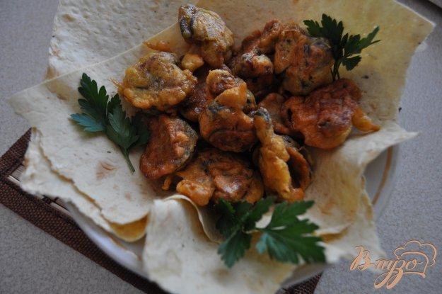 фото рецепта: Жареные мидии в кляре