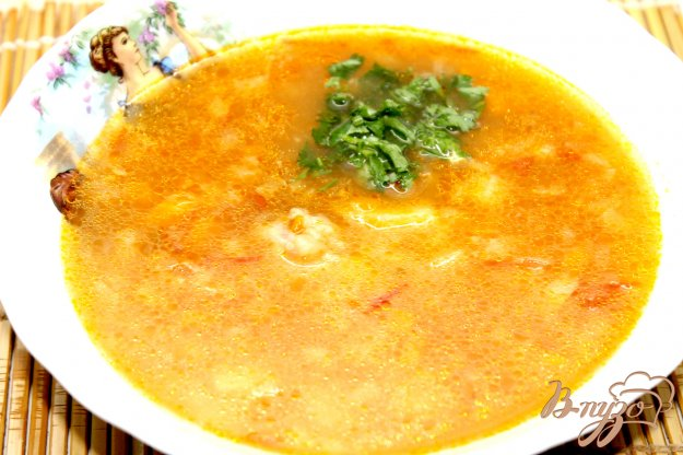 фото рецепта: Куриный суп Харчо в мультиварке