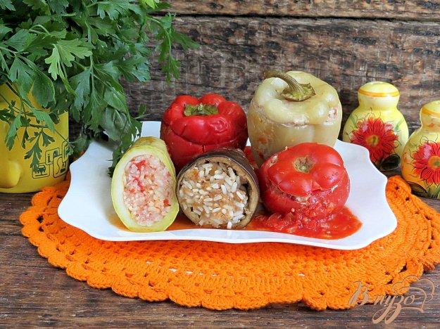 фото рецепта: Овощи фарщированные