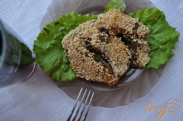 фото рецепта: Жареная рыба в кунжуте