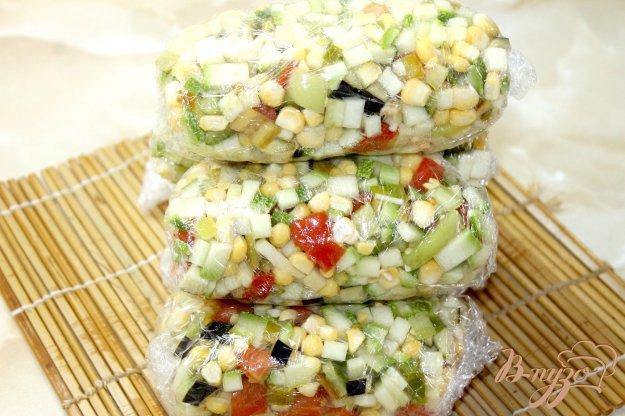 фото рецепта: Овощной микс в заморозку