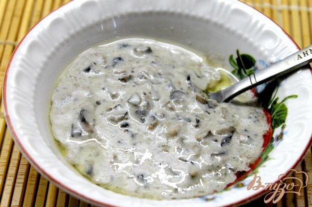 фото рецепта: Сливочный соус с грибами