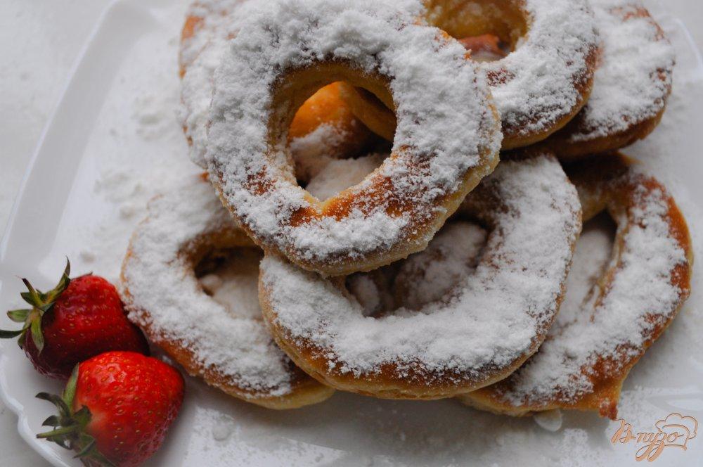 Пончики рецепт пошаговый рецепт на кефире