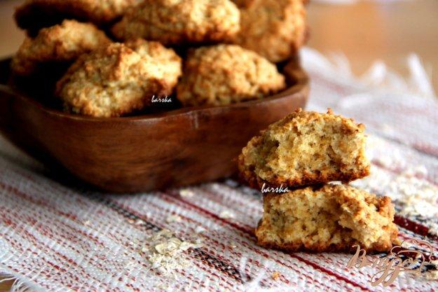 фото рецепта: Овсяное печенье с медом