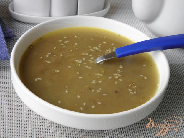 фото рецепта: Суп-пюре из чечевицы