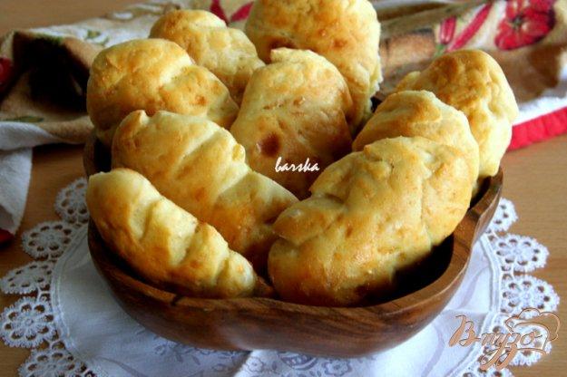фото рецепта: Картофельные булочки-елочки