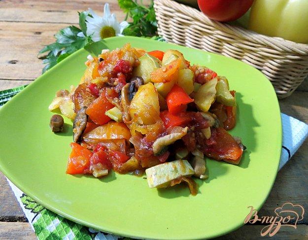 фото рецепта: Рагу овощное летнее