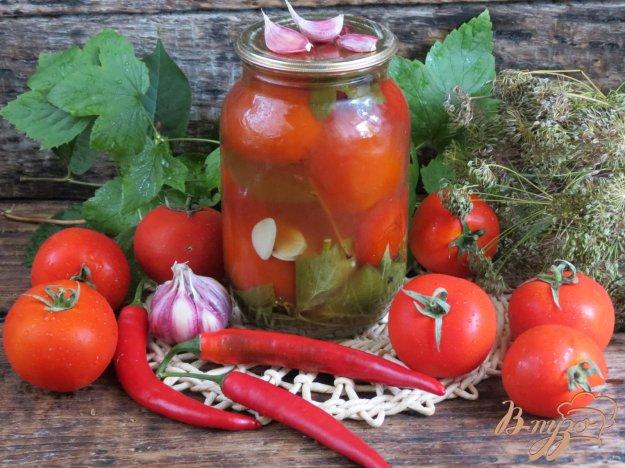 фото рецепта: Помидоры маринованные с кетчупом Чили