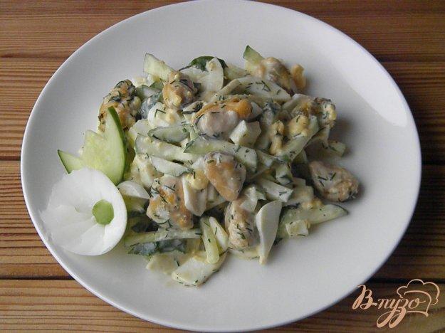 фото рецепта: Салат из мидий